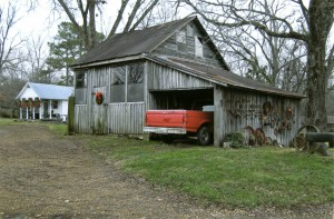 Dement Home Place Seed House, Wash House, and Car Shed