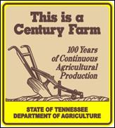 Century Farm Sign