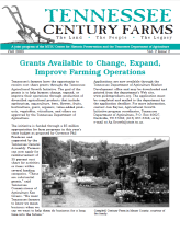 Tennessee Century Farms Newsletter Fall/Winter 2005