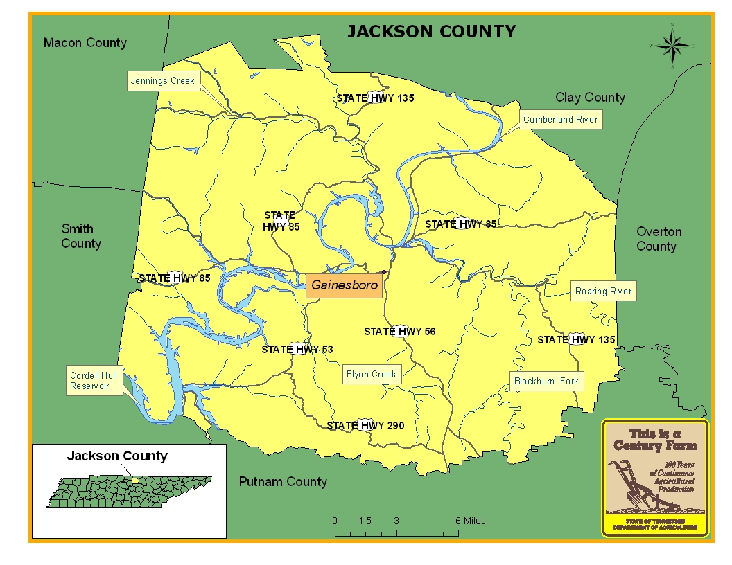 Jackson County Tennessee Century Farms