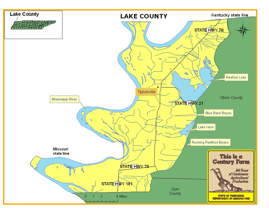 Lake County Map