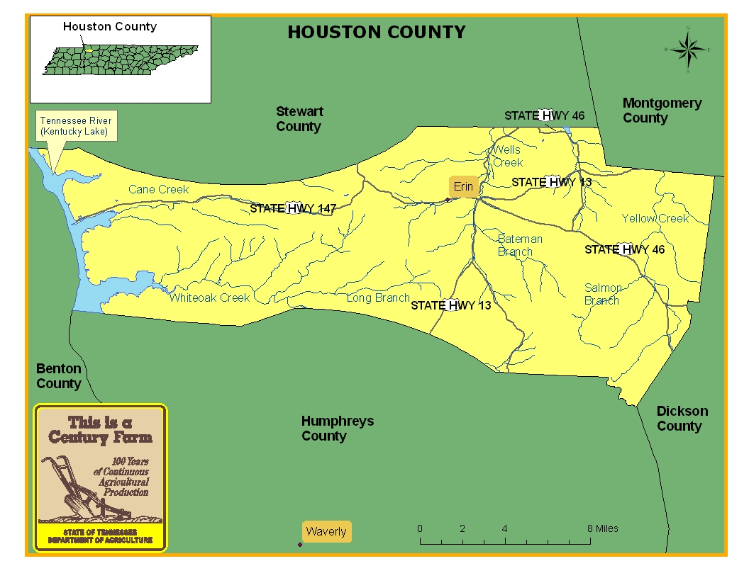 Houston County Map