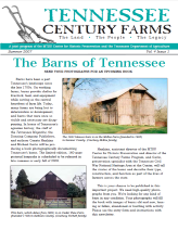 Tennessee Century Farms Newsletter Spring/Summer 2007
