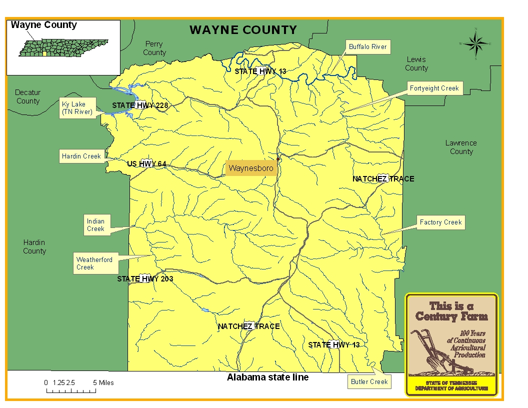 Wayne County | Tennessee Century Farms