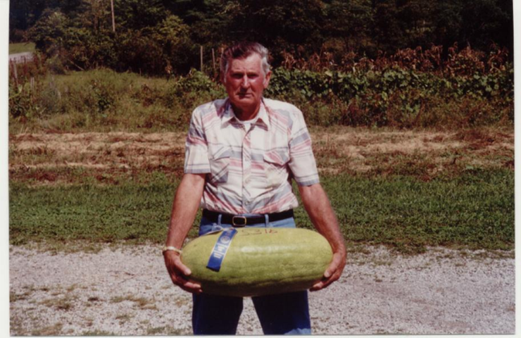 Winning Fair Watermelon, Homer Taylor Farm, Cumberland County
