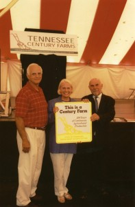 Massengill Farm, Grainger County Century Farm award