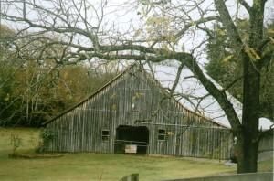 Wooten-Kimbro Farm barn in 2010