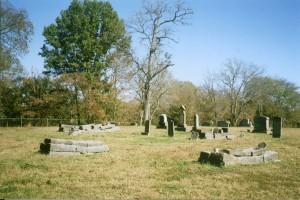 Wooten-Kimbro Farm Kimbro-Troxler Family Cemetery in 2010