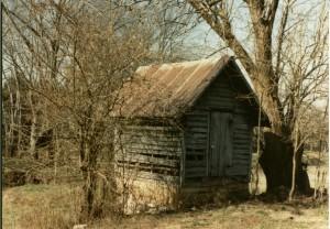 Wooten-Kimbro Farm springhouse in 1992