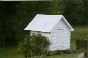 Wooten-Kimbro Farm springhouse in 2010