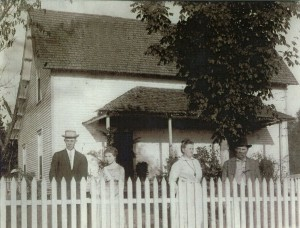 From left: Elrie H. and Ocie C., children of Brinkley Farm Founders Ella and M. H. Brinkley