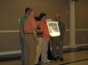 J. C. Leming Century Farm award presentation