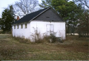 African-American school house on Rowesville Valley Farm property