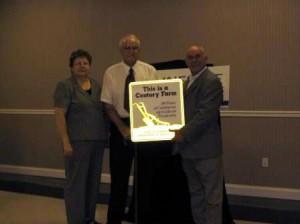 Russell Farm Century Farm award