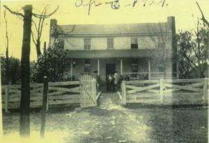 Wright Farm 1921 photo of farmhouse