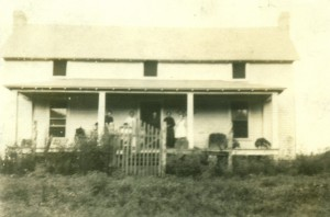 Willow Wood Farm house built in 1921 on the same foundation of previous house that was lost in fire