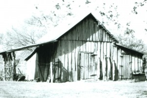 Willow Wood Farm Smoke House and Separator Room, approximately 100 years old