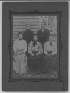 Cypress Creek Farm Thompson siblings Velonia, Lem, Nina, Eveline, and Rena