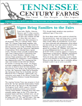Tennessee Century Farms Newsletter Fall/Winter 2004
