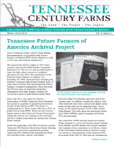 Tennessee Century Farms Newsletter Fall/Winter 2012