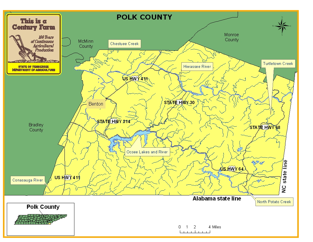 Polk County Map