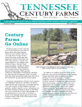Tennessee Century Farms Newsletter Spring/Summer 2006